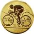 Эмблема для медалей самоклеющаяся  Велоспорт.
