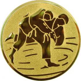 Эмблема для медалей алюминиевая А59 Дзюдо.