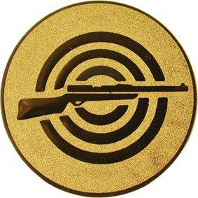 Эмблема для медалей самоклеющаяся  Стрельба из винтовки.