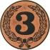 Эмблема для медалей самоклеющаяся  Третье место.