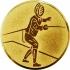 Эмблема для медалей алюминиевая А114 Фехтование.