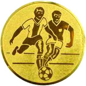 Эмблема для медалей алюминиевая А1 футбол.