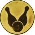 Эмблема для медалей алюминиевая А13 Боулинг.
