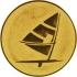 Эмблема для медалей алюминиевая А15 Парусный спорт.