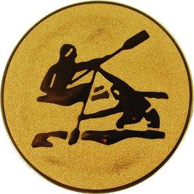 Эмблема для медалей алюминиевая А17 Байдарка.