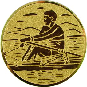 Эмблема для медалей алюминиевая А18 Байдарка.