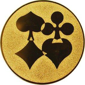 Эмблема для медалей алюминиевая А20 Карты.