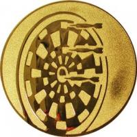 Эмблема для медалей алюминиевая А21 Дартс.