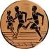 Эмблема для медалей алюминиевая А32 Легкая атлетика/бег/многоборье