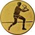 Эмблема для медалей алюминиевая А43 Большой теннис (м).