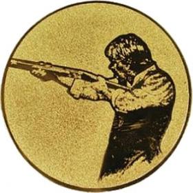 Эмблема для медалей алюминиевая А52 Стендовая стрельба.