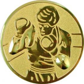 Эмблема для медалей алюминиевая А57 Бокс.