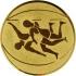 Эмблема для медалей алюминиевая А61 Борьба.