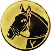 Эмблема для медалей алюминиевая А71 Конный спорт.