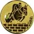 Эмблема для медалей алюминиевая А72 Конный спорт.