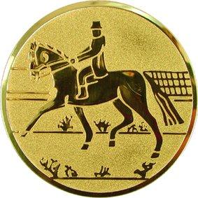 Эмблема для медалей алюминиевая А73 Конный спорт.