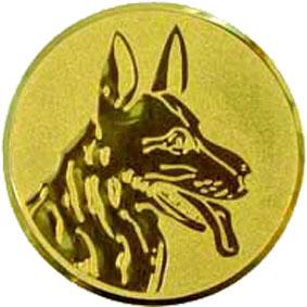 Эмблема для медалей алюминиевая А77 Выставка собак.