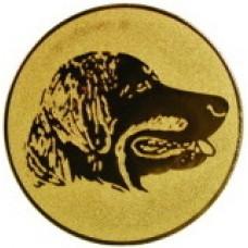 Эмблема для медалей алюминиевая А79 Выставка собак.
