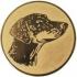 Эмблема для медалей алюминиевая А80 Выставка собак.