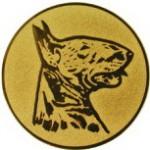 Эмблема для медалей алюминиевая А84 Выставка собак.
