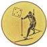 Эмблема для медалей самоклеющаяся  Биатлон.
