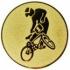 Эмблема для медалей алюминиевая А101 Мотоспорт.