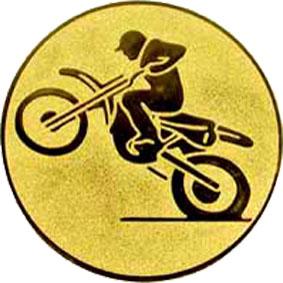 Эмблема для медалей алюминиевая А103 Мотоспорт.