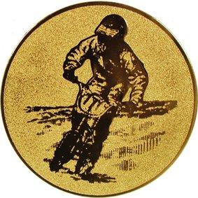 Эмблема для медалей алюминиевая А104 Мотоспорт.