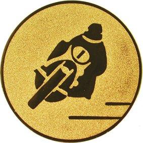 Эмблема для медалей алюминиевая А105 Мотоспорт.