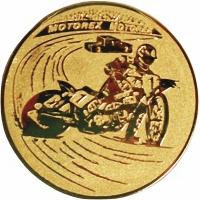 Эмблема для медалей алюминиевая А112 Мотоспорт.