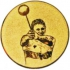 Эмблема для медалей алюминиевая А116 Метание молота.