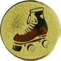 Эмблема для медалей алюминиевая  А132 Ролики.
