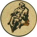 Эмблема для медалей алюминиевая  А134 Мотоспорт.