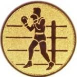Эмблема для медалей алюминиевая  А138 Бокс.