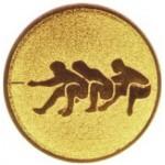 Эмблема для медалей самоклеющаяся  Перетягивание каната.