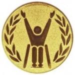 Эмблема для медалей алюминиевая  А 146 Параолимпиец.