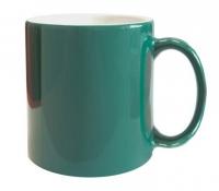 Кружка хамелеон Стандарт зелёная меняющая цвет под сублимацию