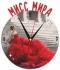 """Металлические часы """"Мисс Мира"""" под нанесение 192x243 мм."""