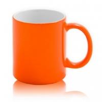 Кружка хамелеон Премиум оранжевая под сублимацию
