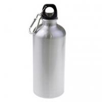 Металлическая фляга спортивная для воды 500 мл (металл, цвет серебро)