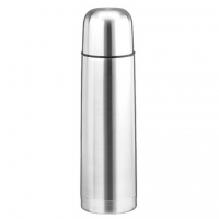 Металлический термос 750мл (металл, цвет серебро)